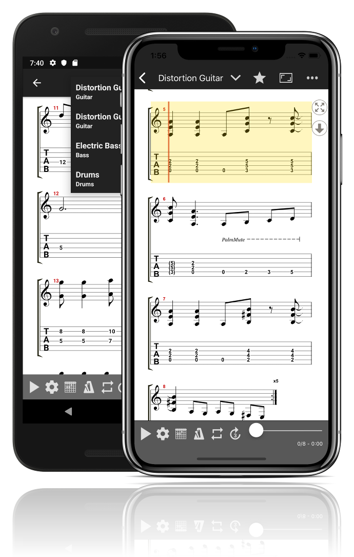 GuitarTab - Tabs and chords | Guitar tab app for Android, iOS and ...